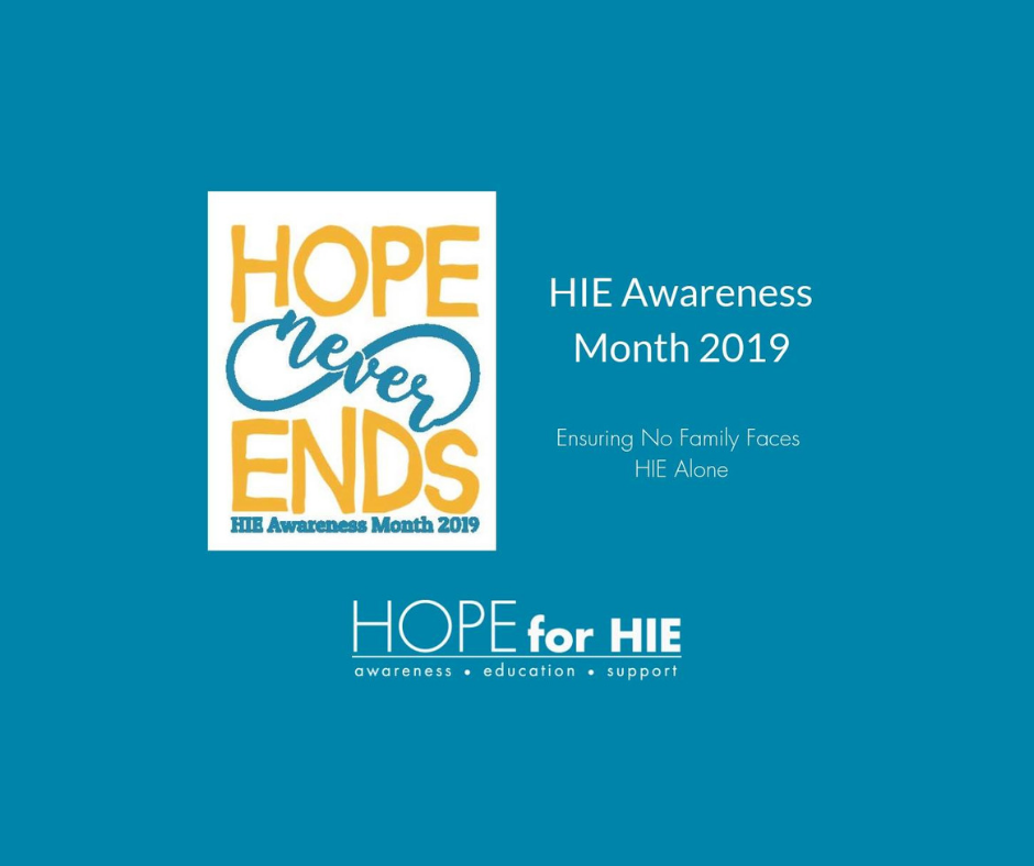 HIE Awareness Month is This April 2019